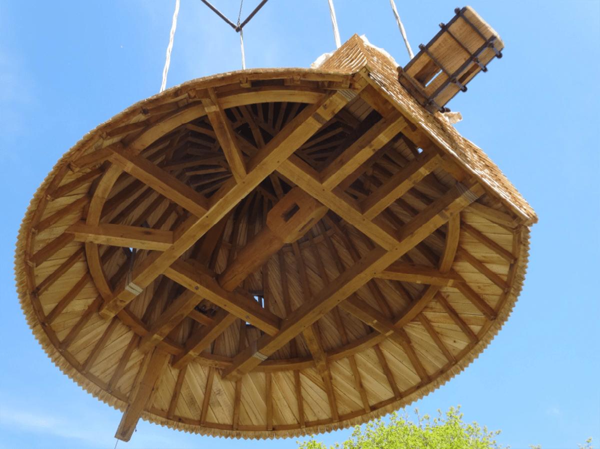fabrication-charpente-du-moulin-du-mont-des-alouettes-les-herbiers