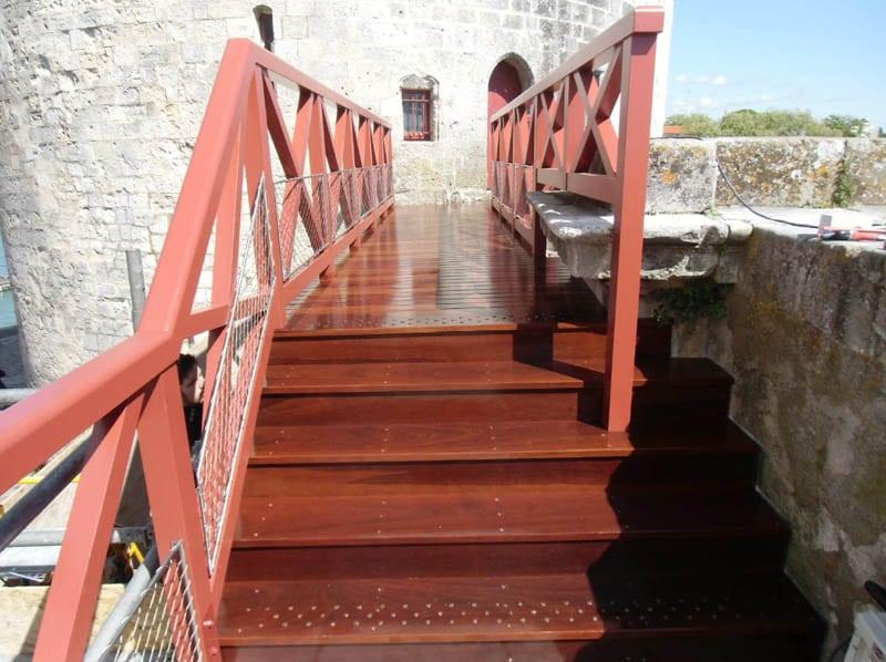 Passerelle - tour de la chaine - La Rochelle
