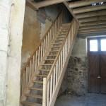 Escalier - Château de la Frogerie