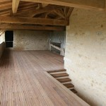 Terrasse et charpente