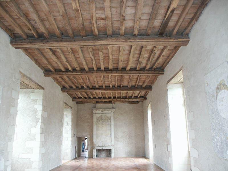 Parquet et plafond bois