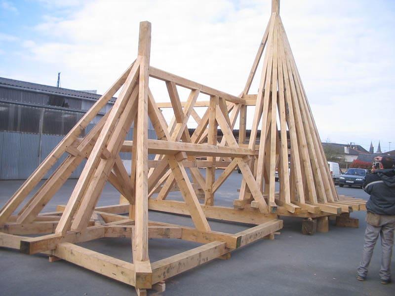 charpente traditionnelle