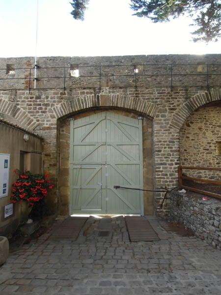 Portail bois - Château de Noirmoutier (85)