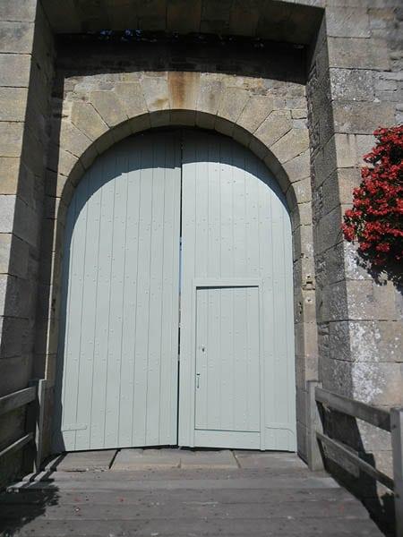 Portail bois - Château de Noirmoutier
