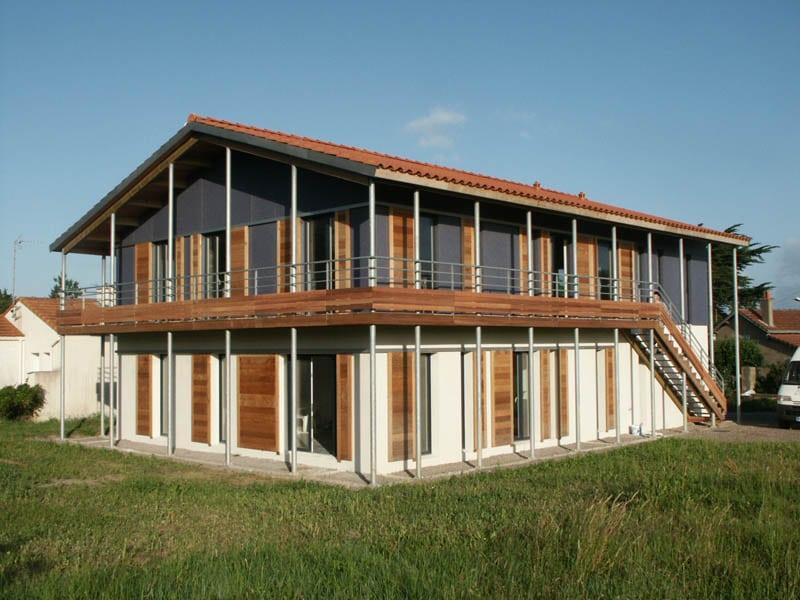 Maison Ossature Bois à Prefailles (44)