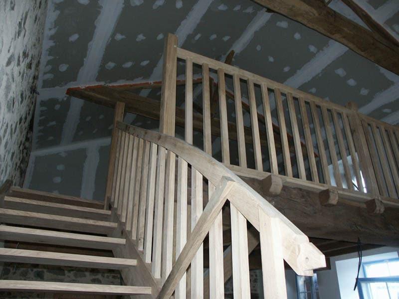 Escalier à La Pommeraie (85)