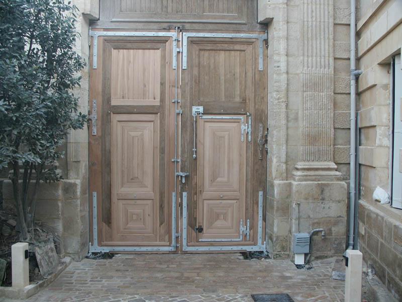 Restauration de portail à Niort (79)