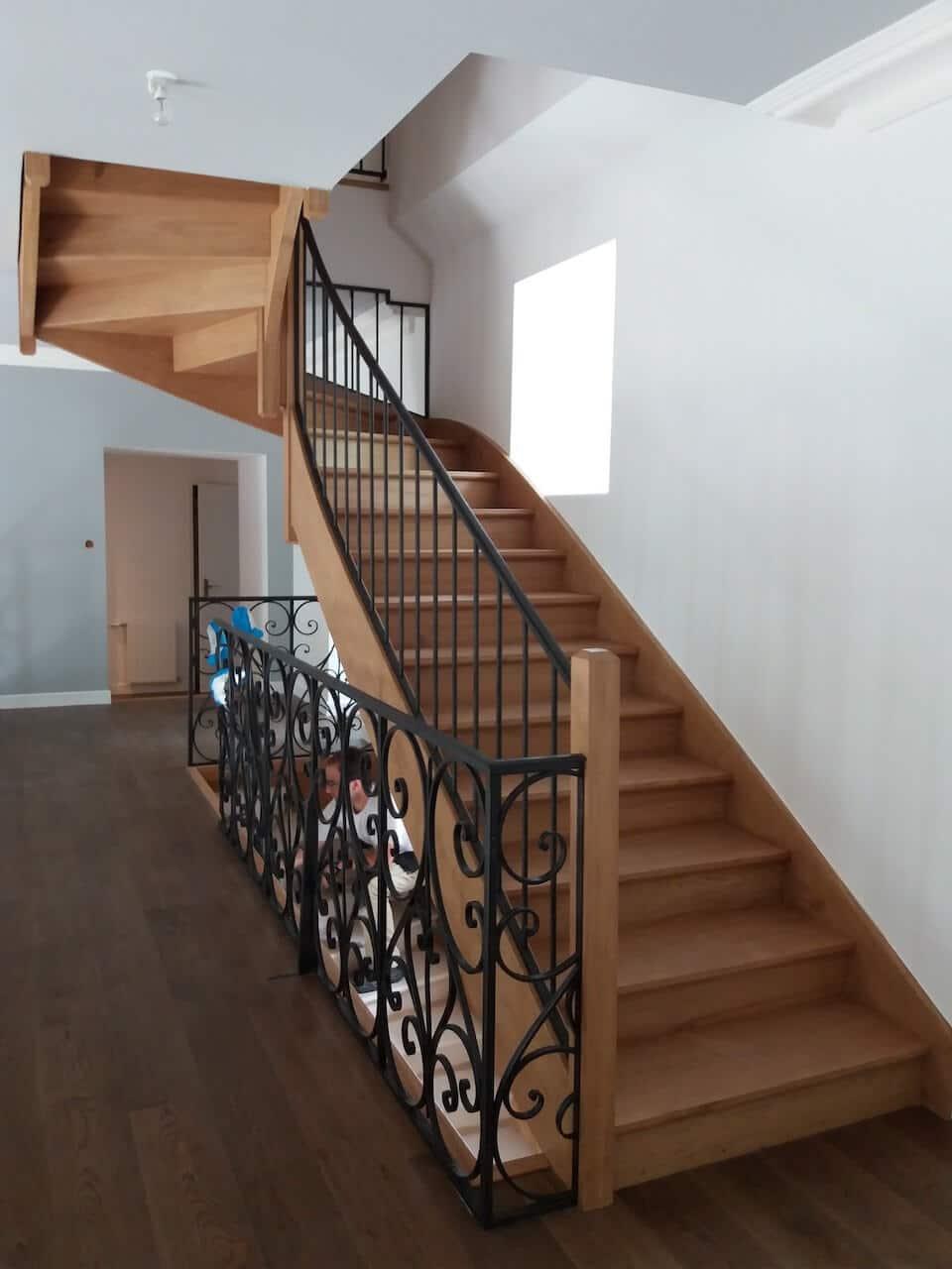 Escalier de chateau