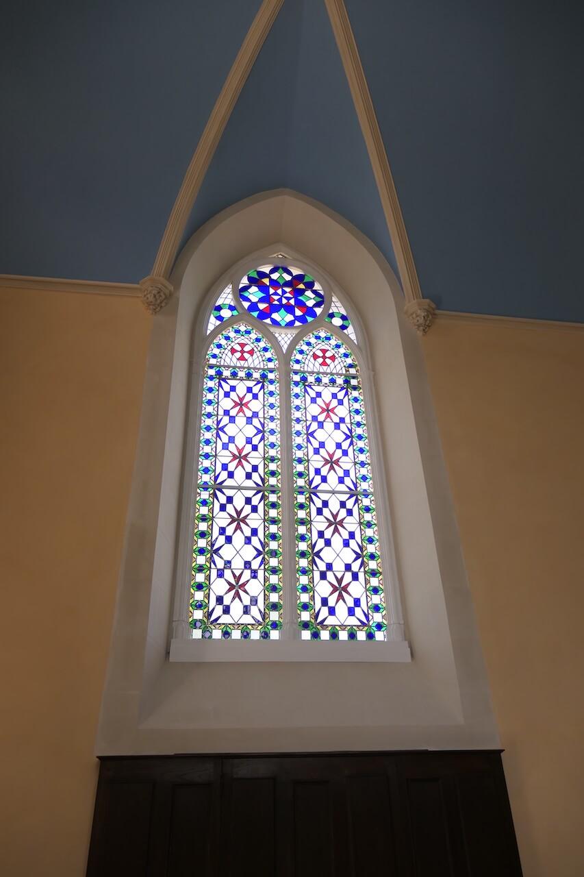 vitrail de la chapelle Chantrerie